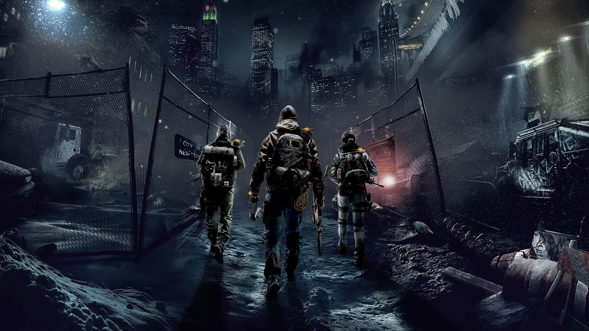 Tom Clancy's The Division HD Wallpaper | Background Image ...