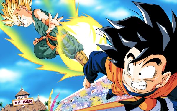 Anime Dragon Ball Z Dragon Ball Goten Trunks HD Wallpaper | Background Image
