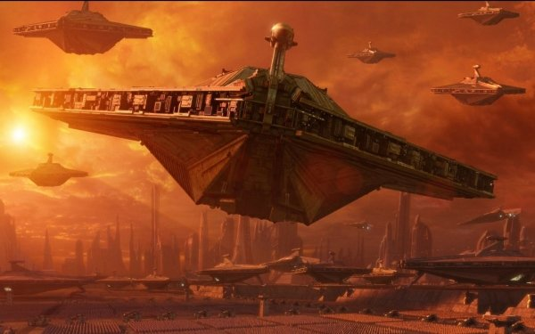 Movie Star Wars Episode II: Attack Of The Clones Star Wars Attack of the Clones Star Destroyer HD Wallpaper | Background Image