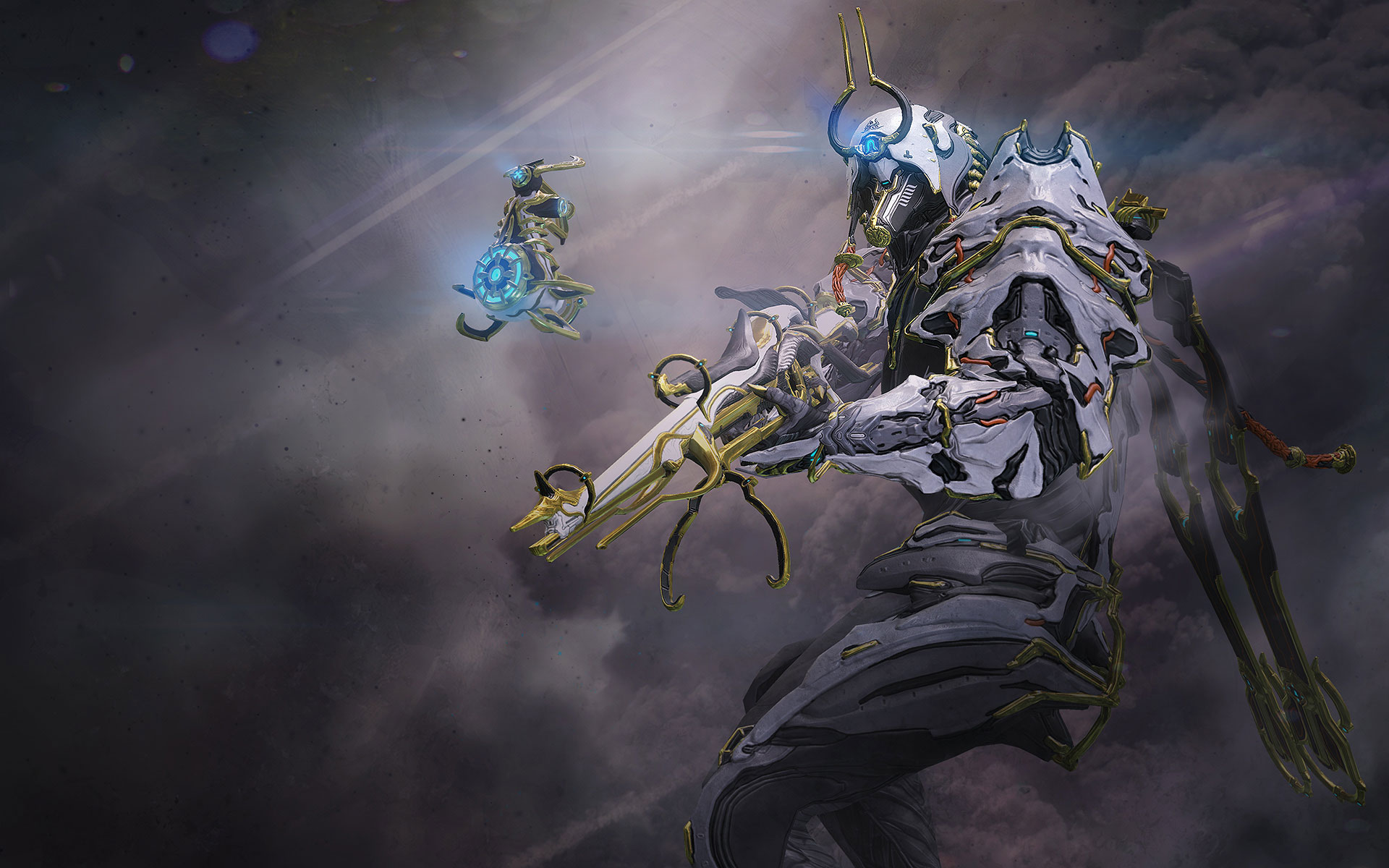 2 ash prime warframe hd wallpapers background images - Warframe background ...
