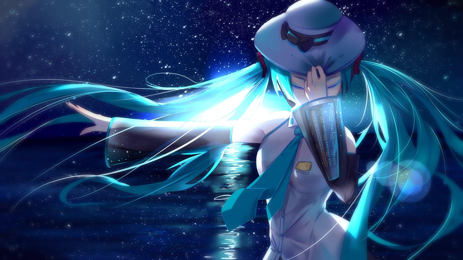 Hatsune miku fondo de pantalla hd fondo de escritorio - Anime para fondo ...