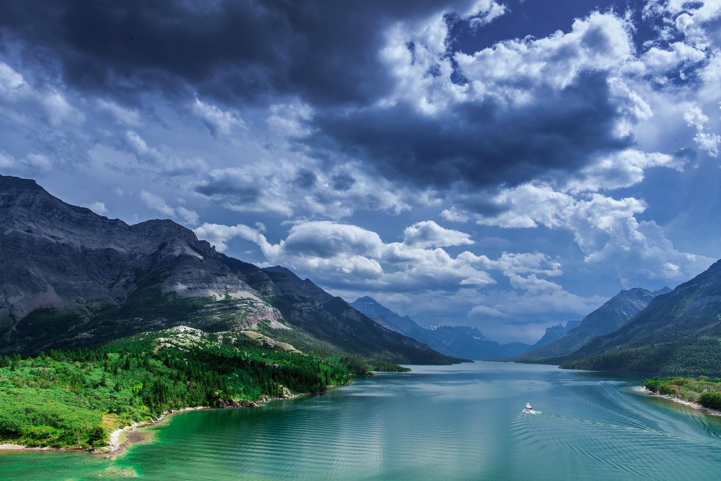 Waterton Lakes National Park In Canada Papel De Parede HD