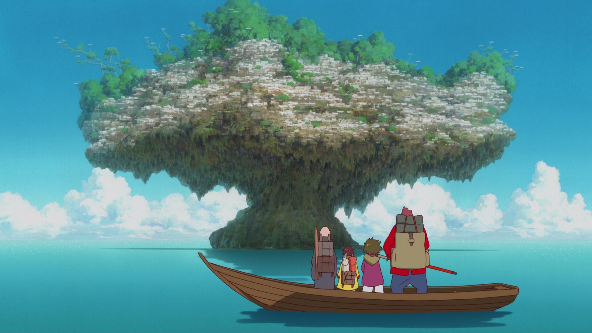 On The Boat Bakemono No Ko Fondo De Pantalla Hd Fondo De