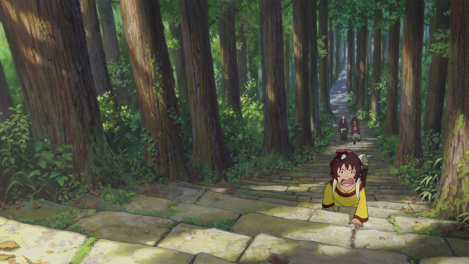 Anime - The Boy and the Beast  Forest Stairs Bakemono no Ko Wallpaper