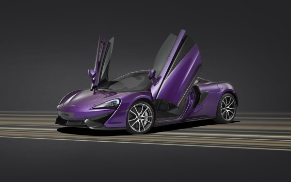 Véhicules McLaren 570S McLaren Supercar Voiture Purple Car Fond d'écran HD | Image
