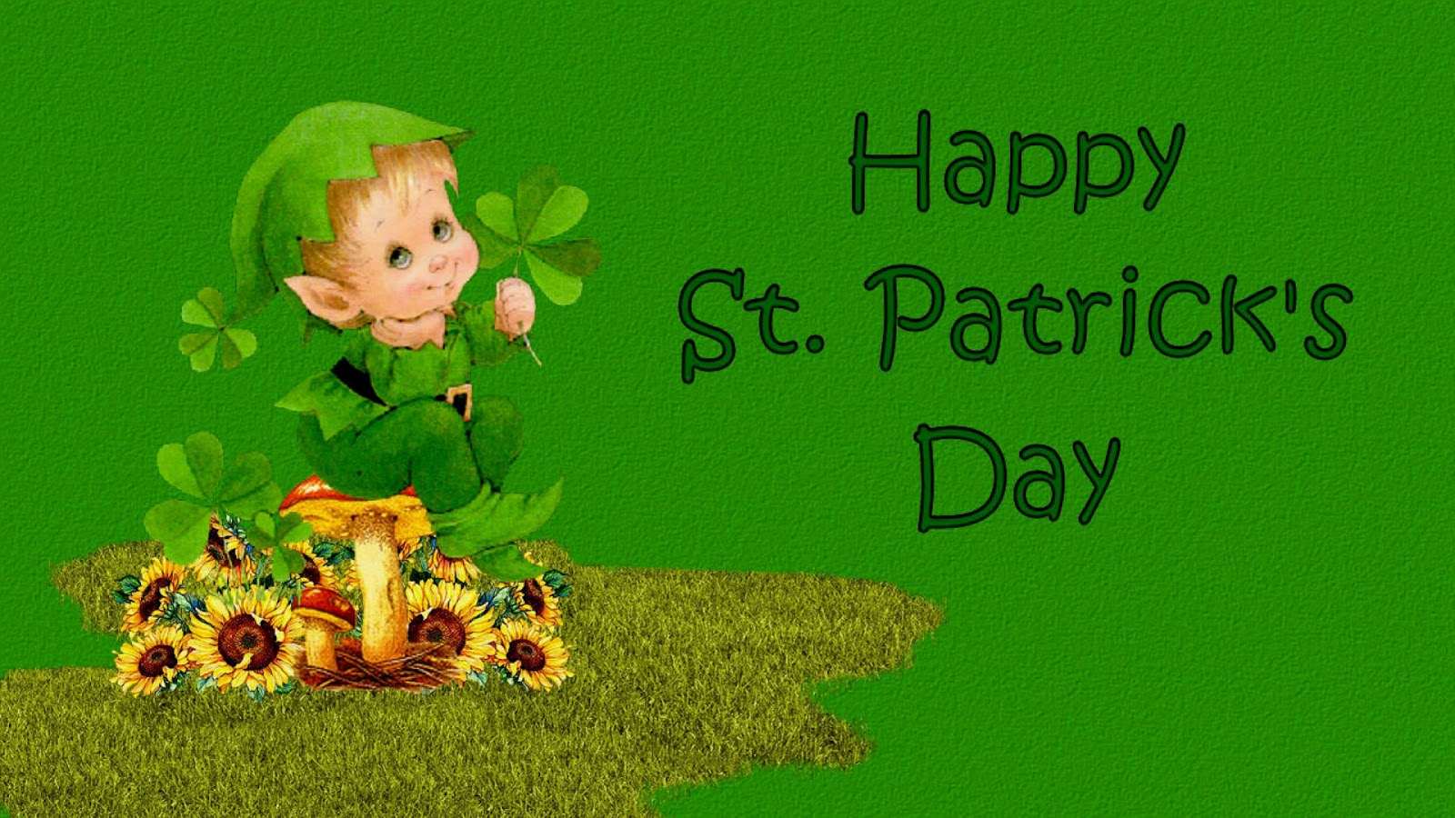 St Patrick S Day Leprechaun Wallpaper And Background Image