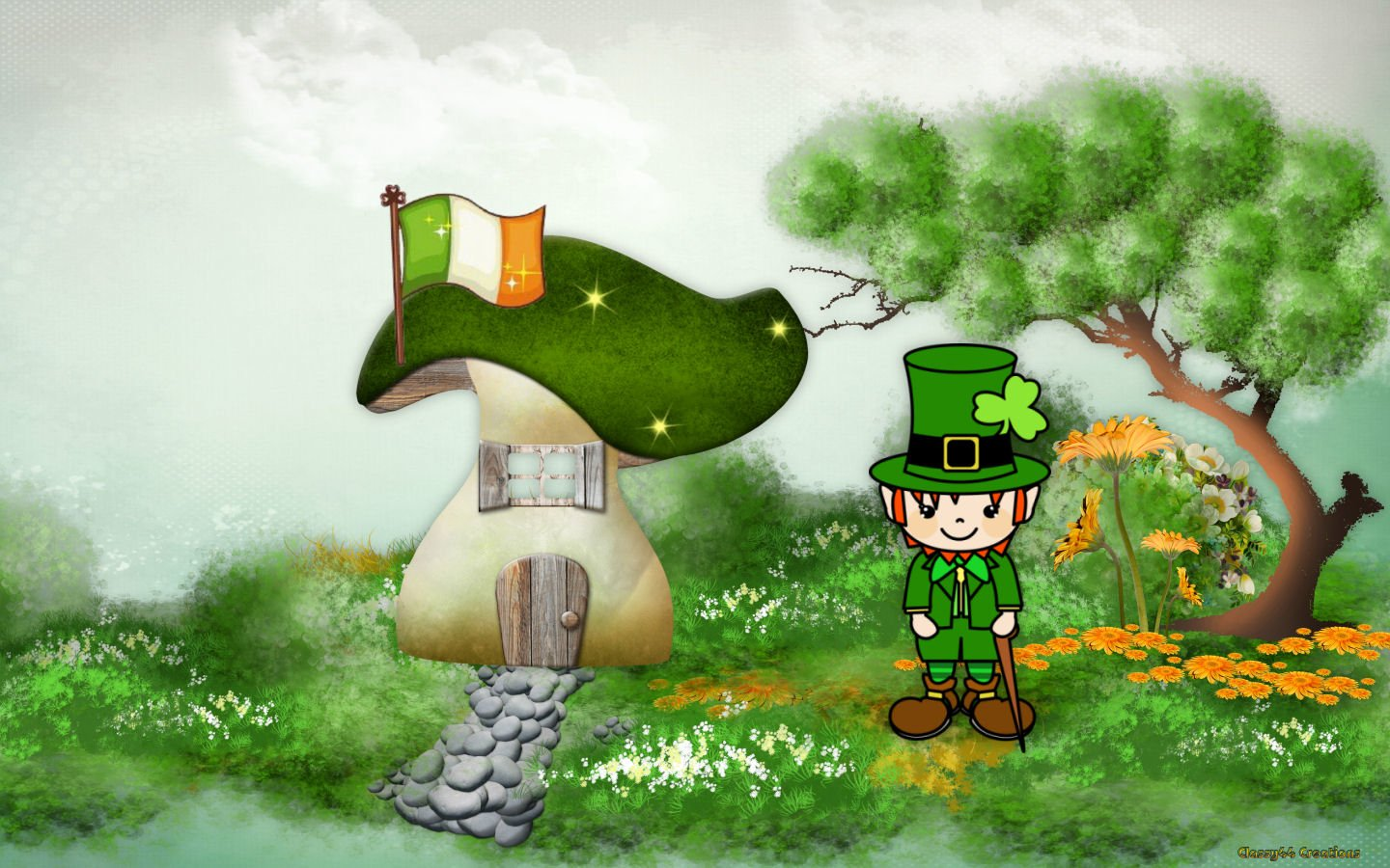 Holiday - St. Patrick's Day Leprechaun Wallpaper
