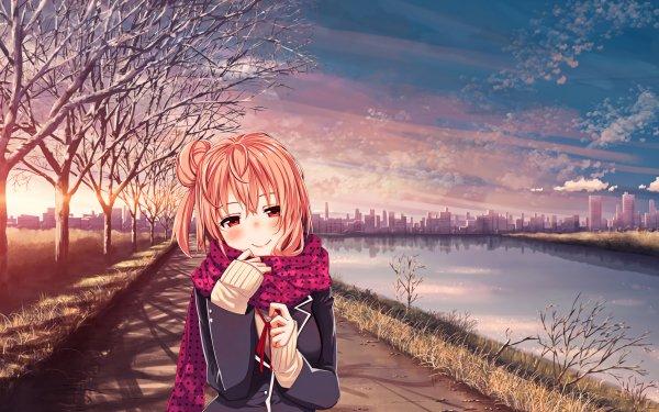 Anime My Teen Romantic Comedy SNAFU Yui Yuigahama HD Wallpaper   Background Image
