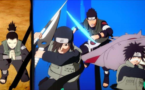 Video Game Naruto Shippuden: Ultimate Ninja Storm 4 Asuma Sarutobi Shikamaru Nara Kotetsu Hagane Izumo Kamizuki HD Wallpaper | Background Image