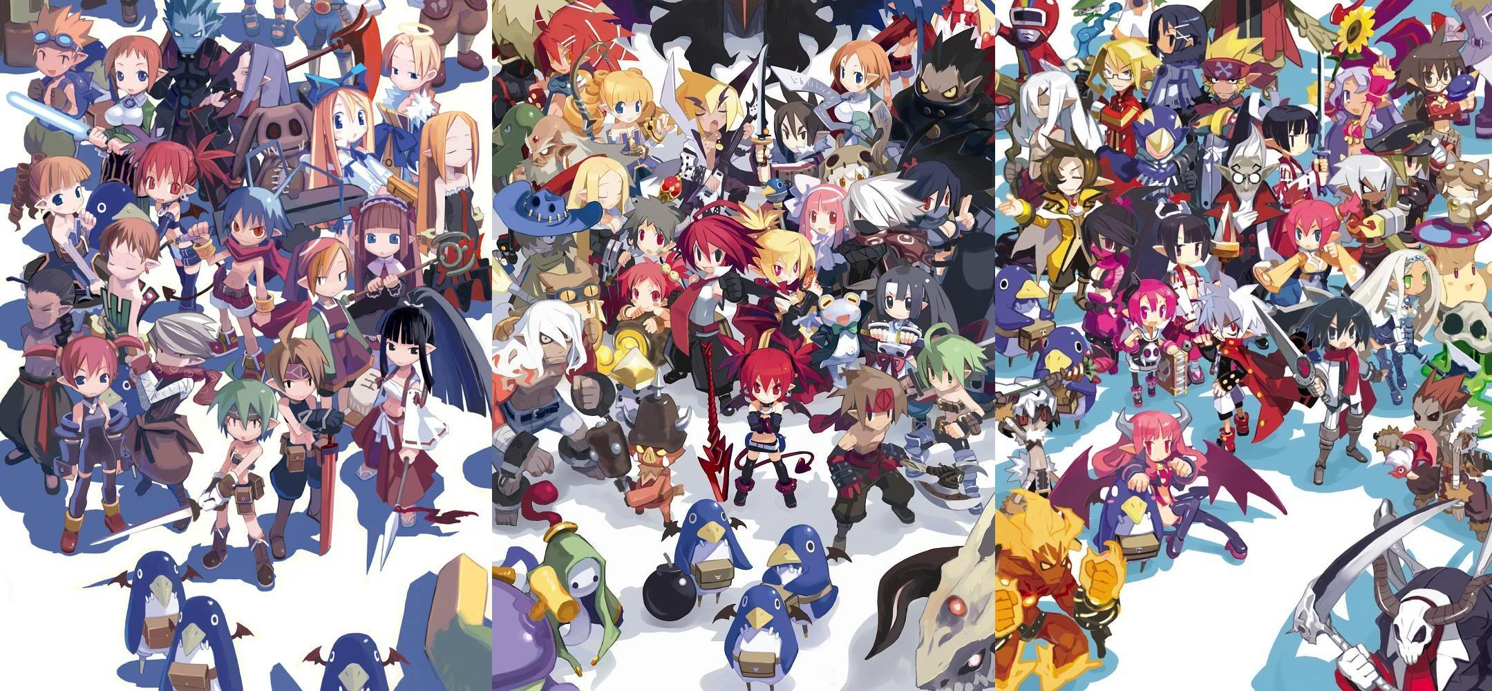 Disgaea Wallpaper And Background Image 2159x1000 Id