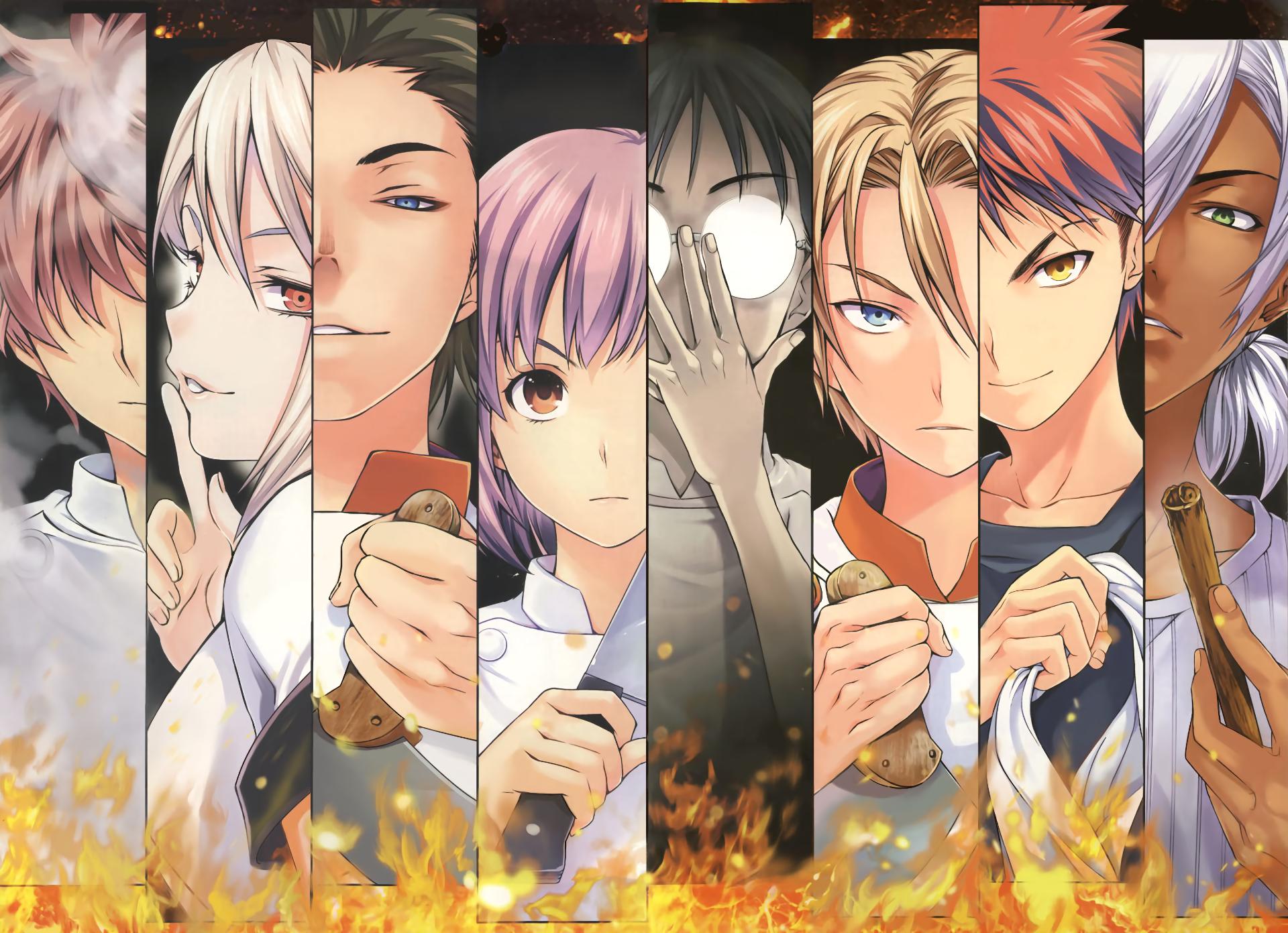 Food Wars: Shokugeki no Soma HD Wallpaper   Background ...