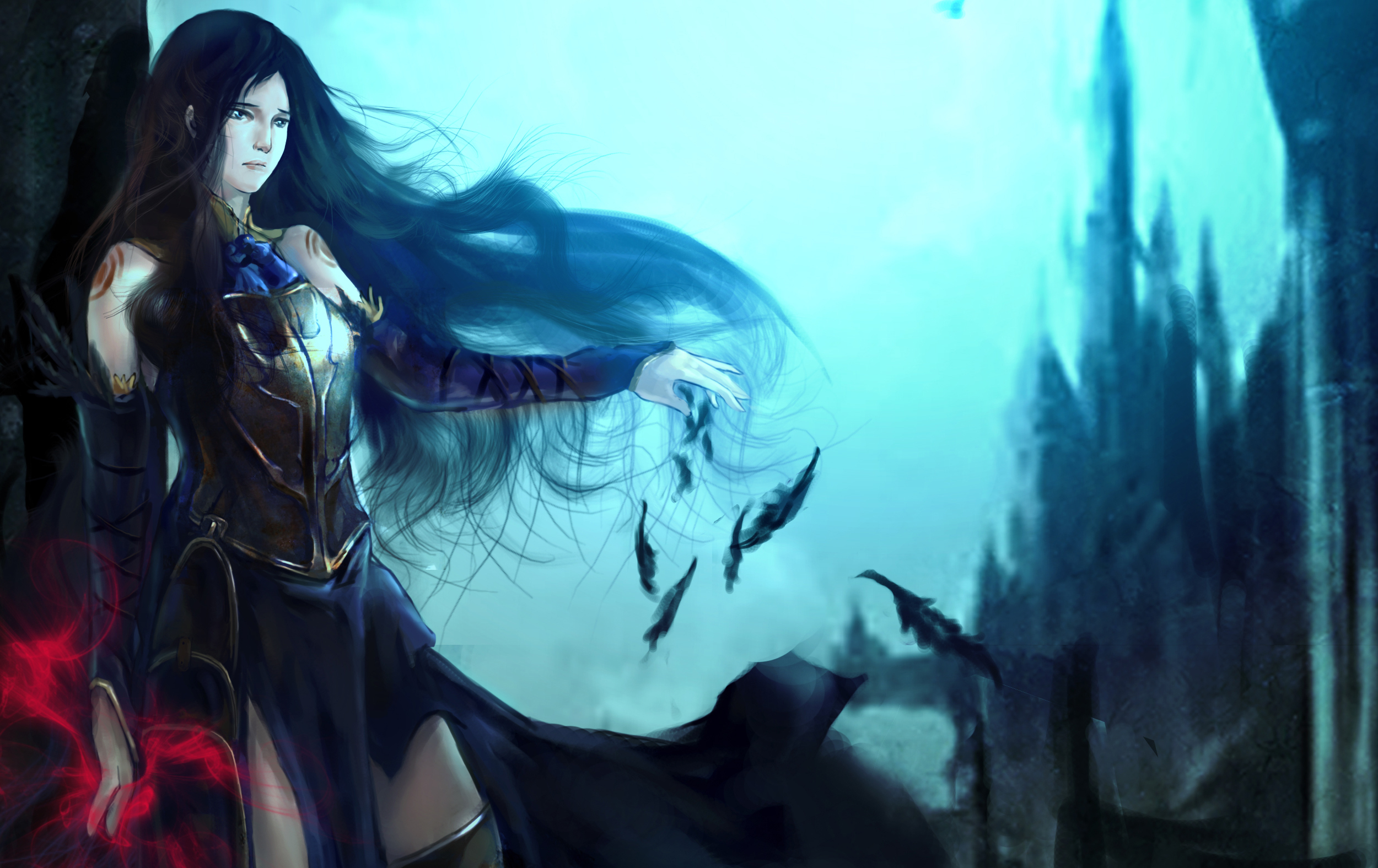 Castlevania Order Of Ecclesia Hd Wallpaper Background Image