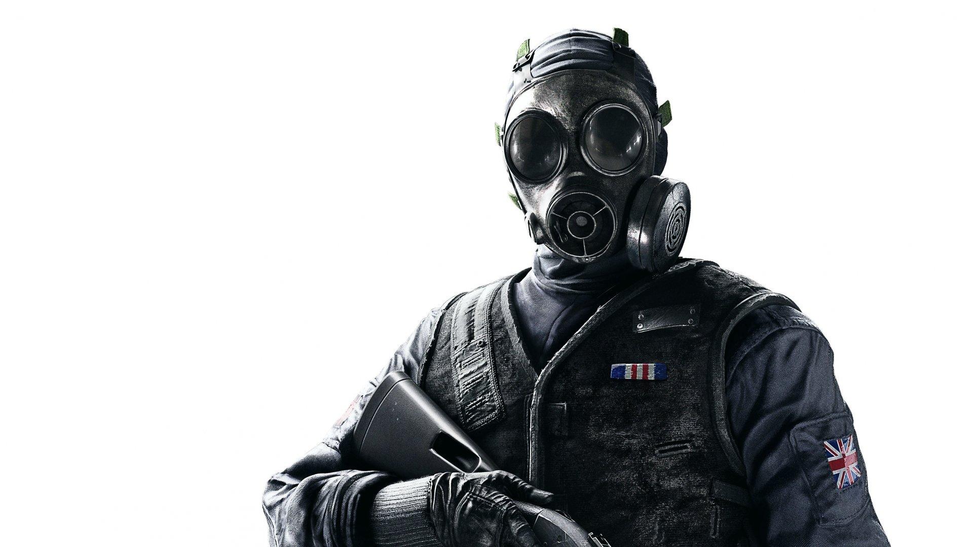 Video Game - Tom Clancy's Rainbow Six: Siege  Gas Mask Wallpaper