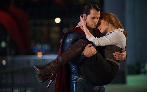 Movie Batman v Superman: Dawn of Justice Superman Amy Adams Lois Lane Henry Cavill HD Wallpaper | Background Image