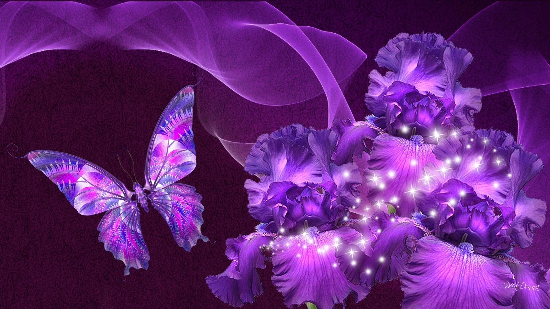 Purple Love Wallpaper: Purple Fantasy HD Wallpaper
