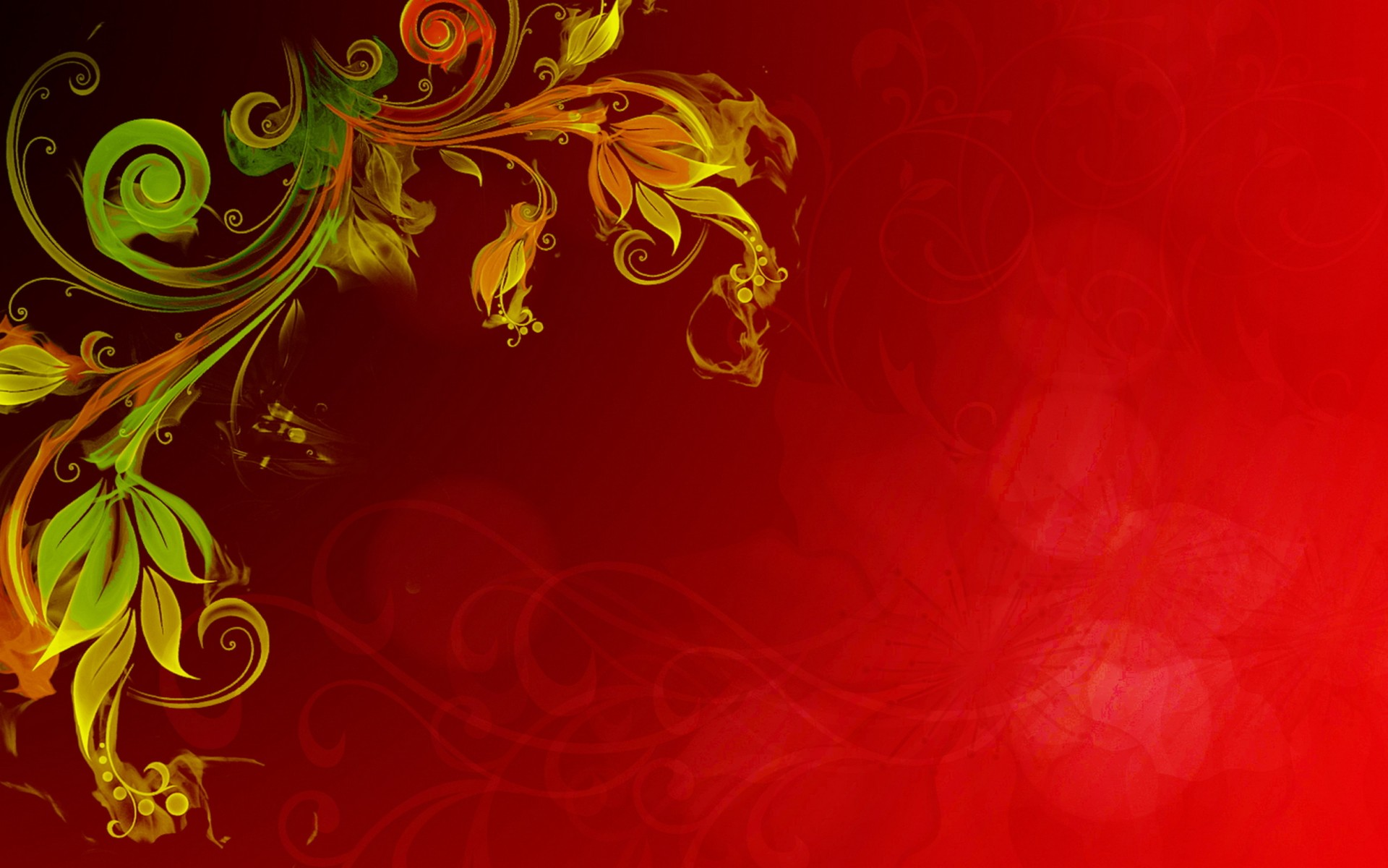 Floral Vector Full HD Wallpaper And Background Image