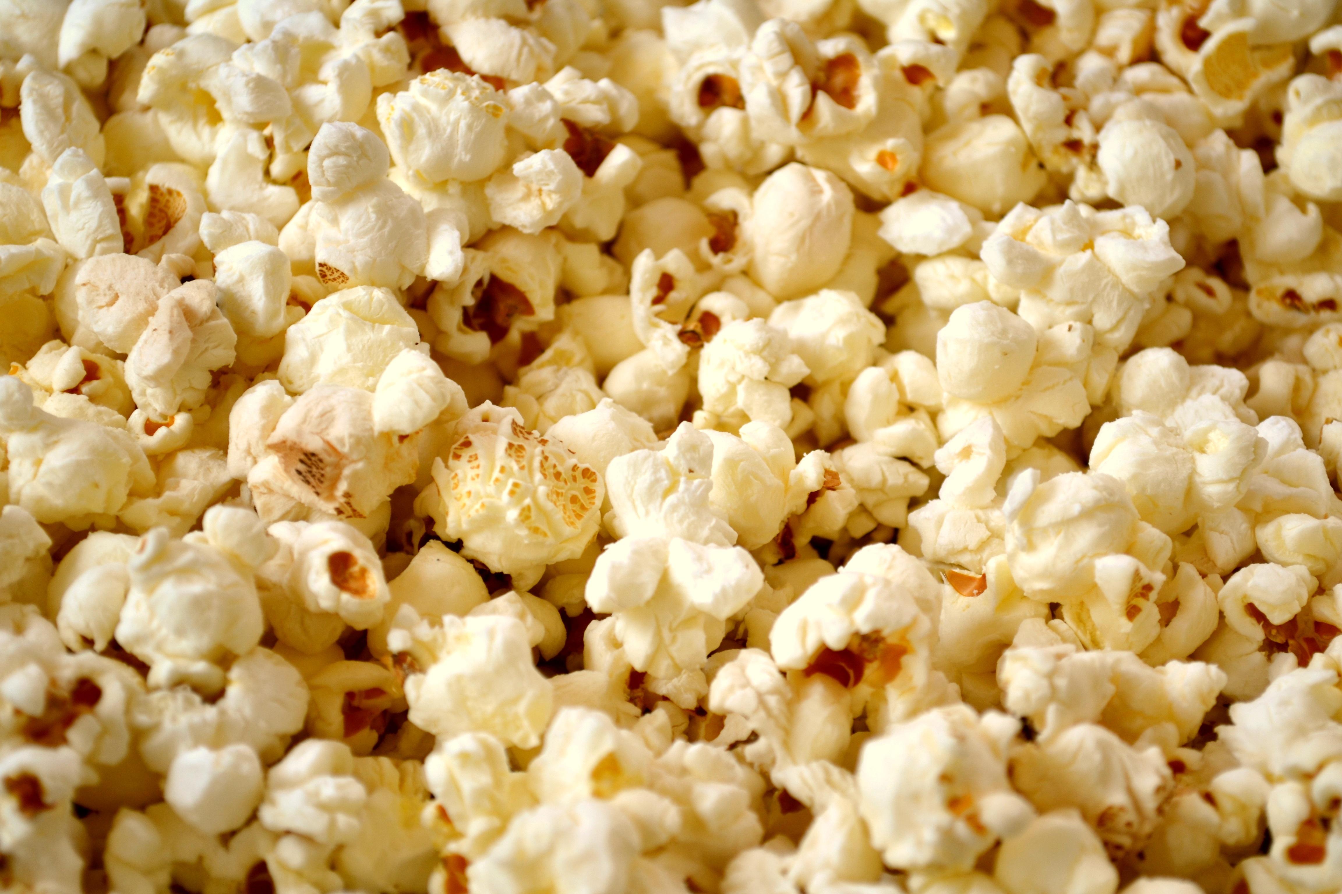 A Snack Of Delicious Popcorn 4k Ultra Hd Wallpaper