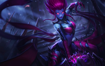 18 evelynn league of legends hd wallpapers background images wallpaper abyss. Black Bedroom Furniture Sets. Home Design Ideas