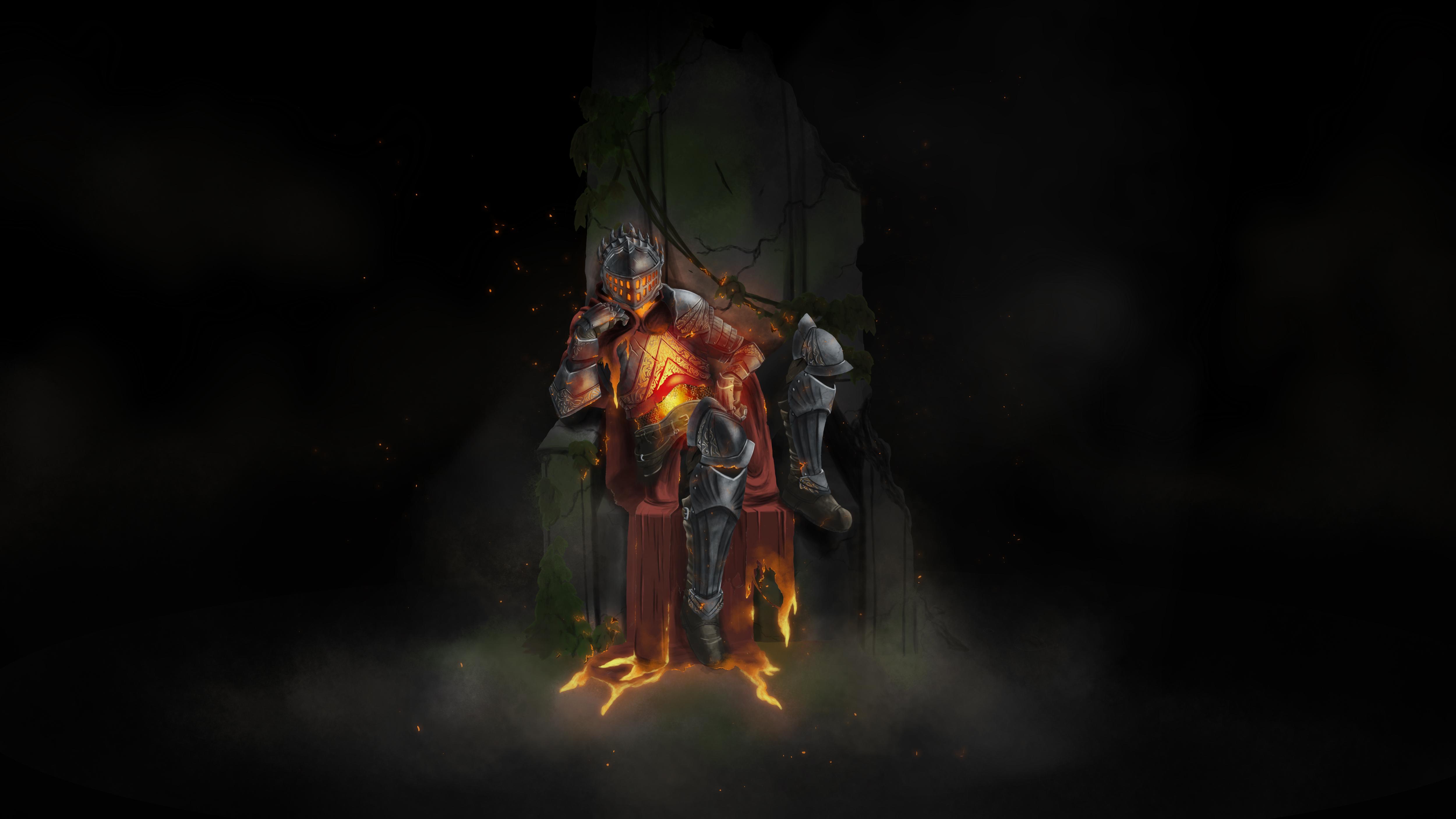 Dark Souls Iii Lord Of Cinder 4k Ultra Hd Wallpaper Background