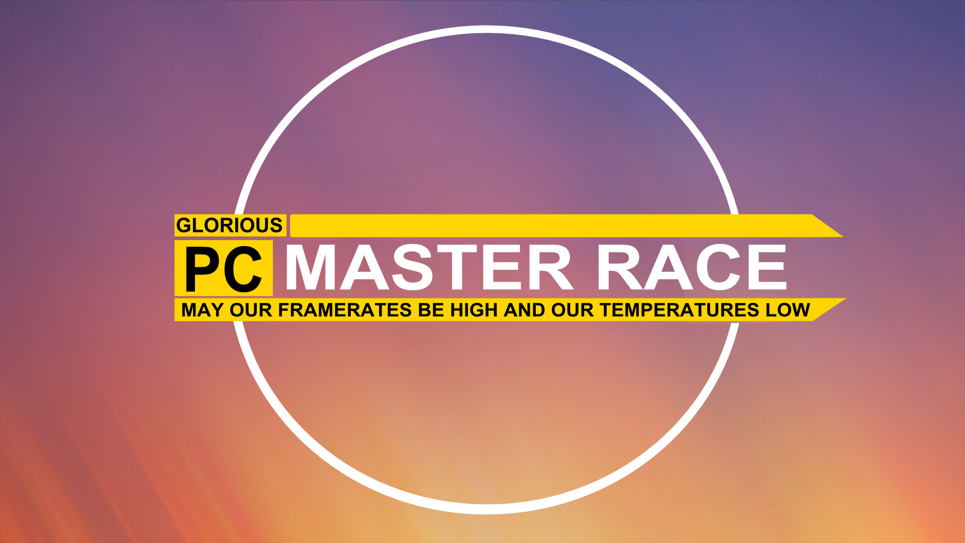 Pc Master Race Full Hd Wallpaper And Background Image