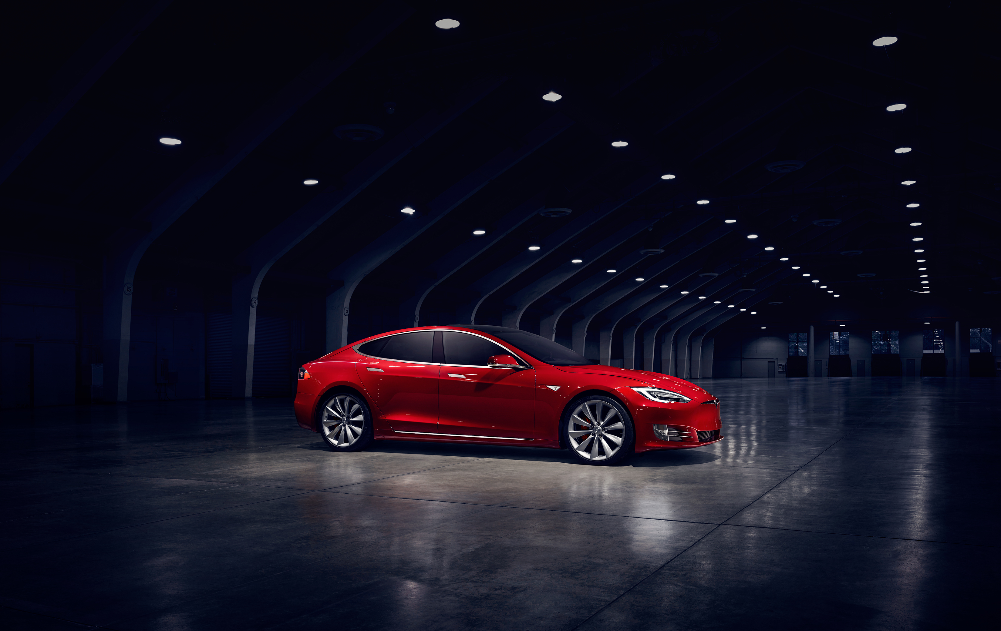 Tesla Model S Full Hd Wallpaper And Background Image