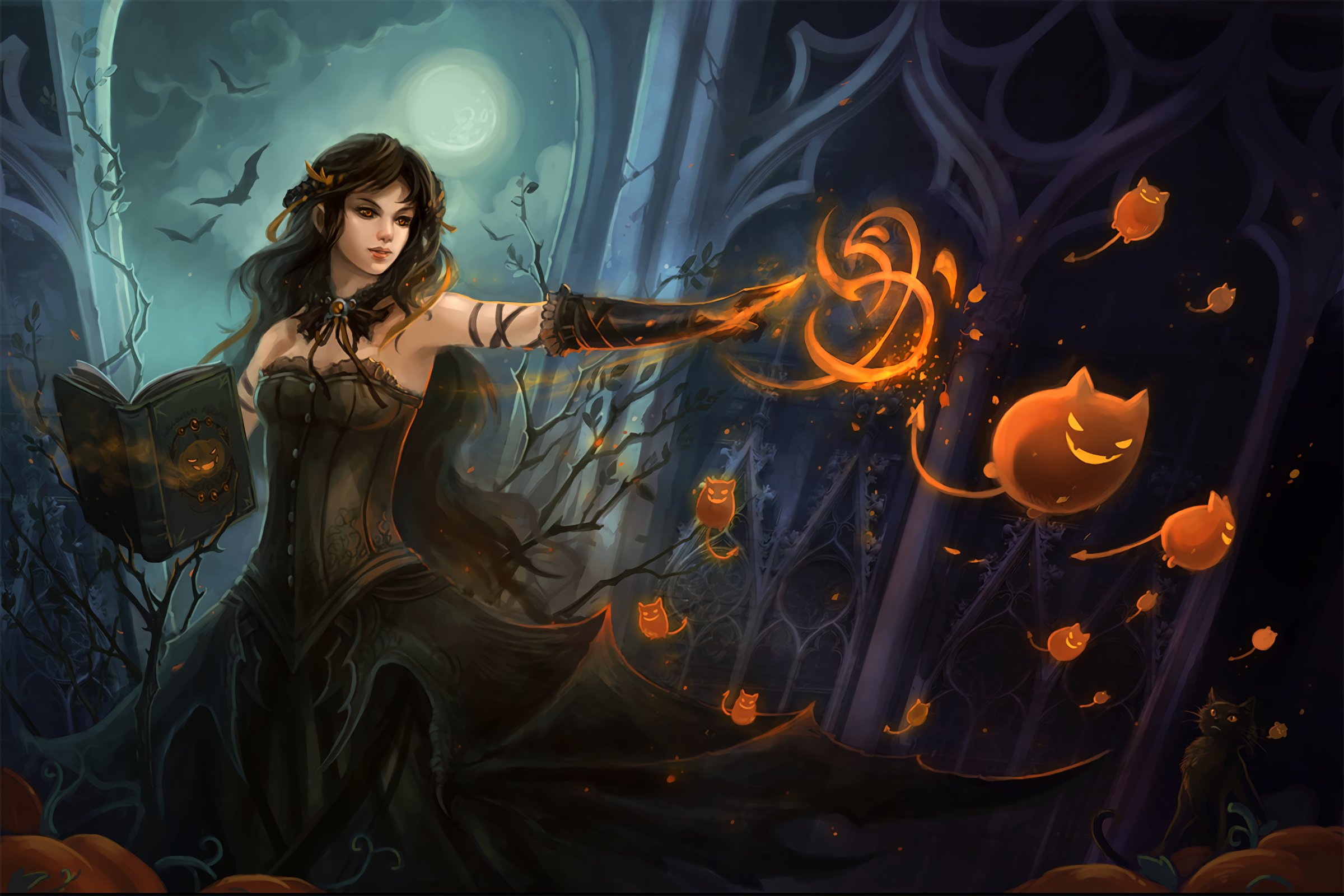 245 Witch Hd Wallpapers Background Images Wallpaper Abyss