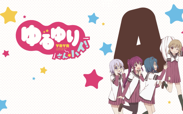 Anime Yuru Yuri Kyōko Toshinō Akari Akaza Yui Funami Chinatsu Yoshikawa HD Wallpaper | Background Image