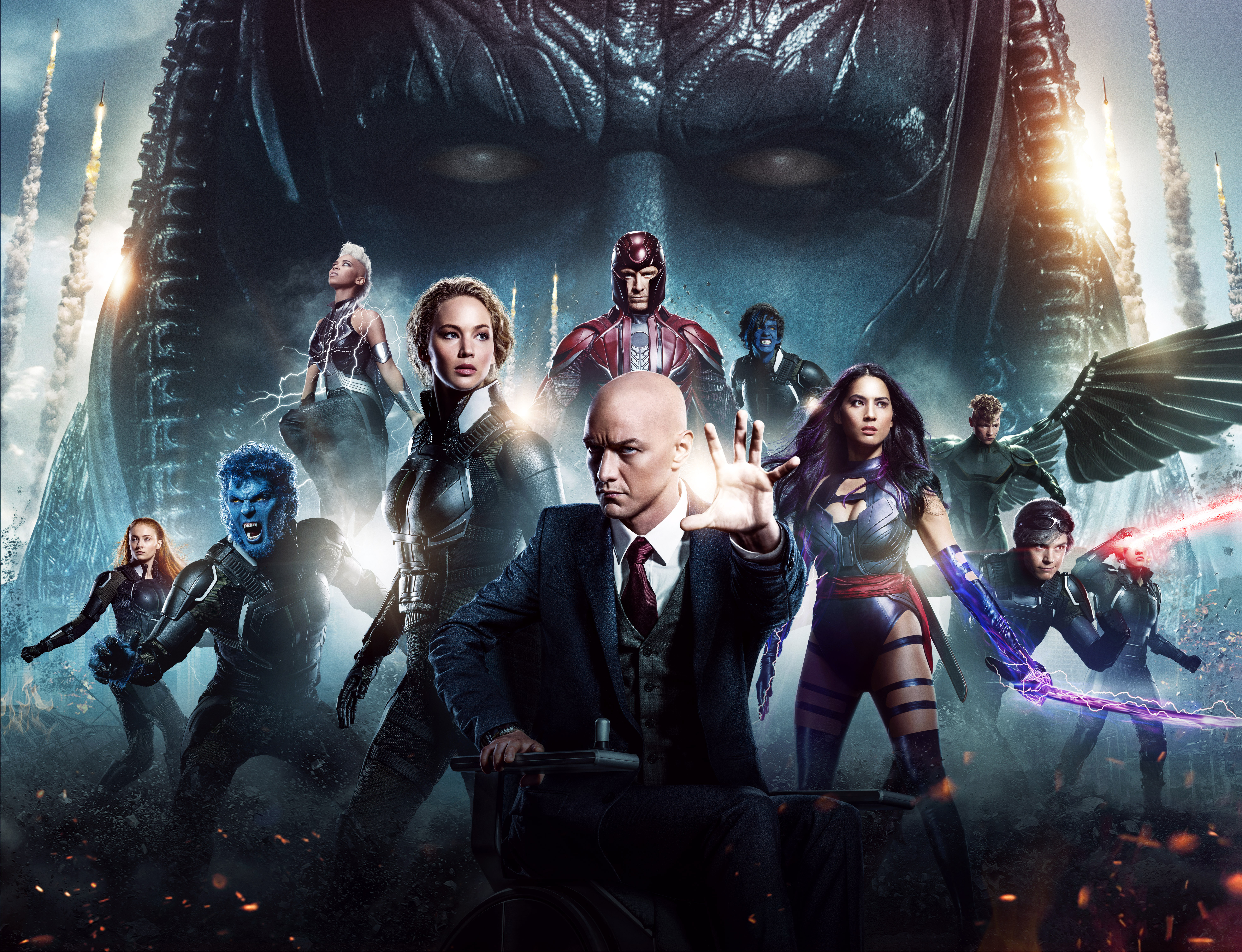 X Men Apocalypse 5k Retina Ultra HD Wallpaper And Background Image