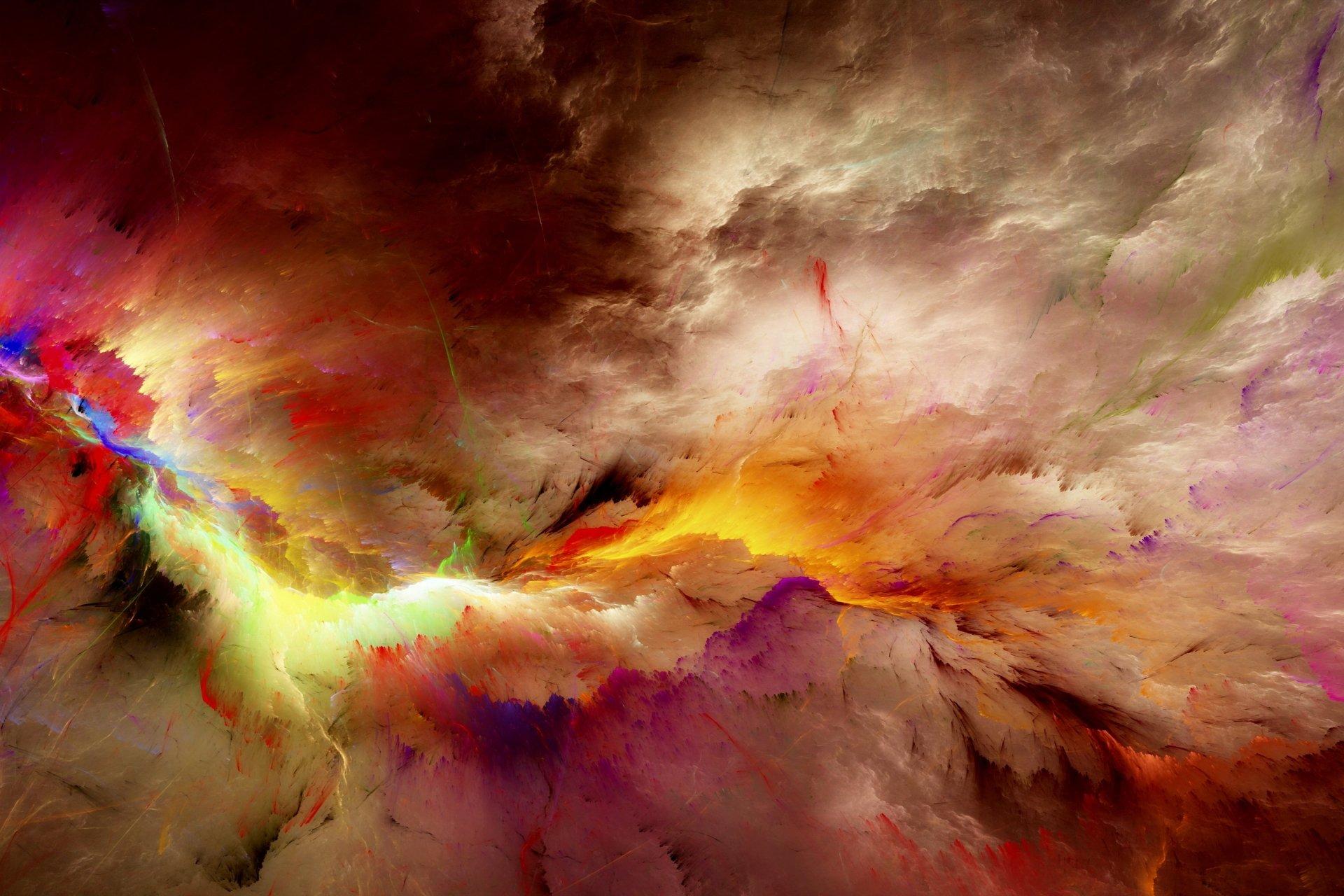 Colorful Cloud Abstract 5k Retina Ultra HD Wallpaper
