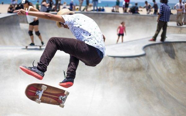 Sports Skateboarding Skateboard People Outdoor Urban HD Wallpaper | Background Image