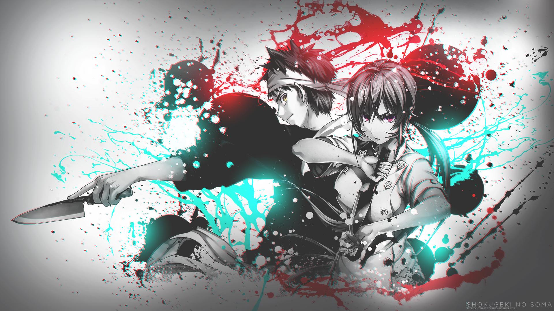 Erina and soma shokugeki no soma hd wallpaper - Anime war wallpaper ...