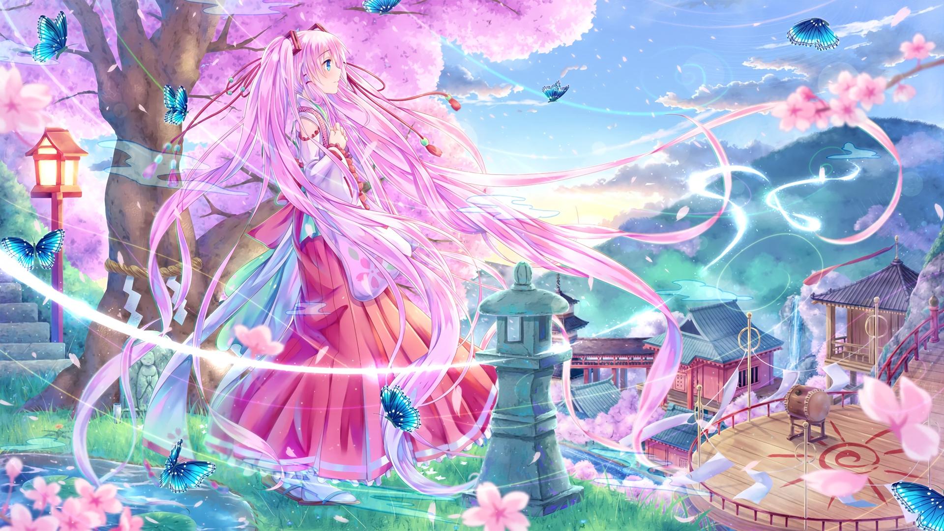 sakura wallpaper girls anime - photo #9