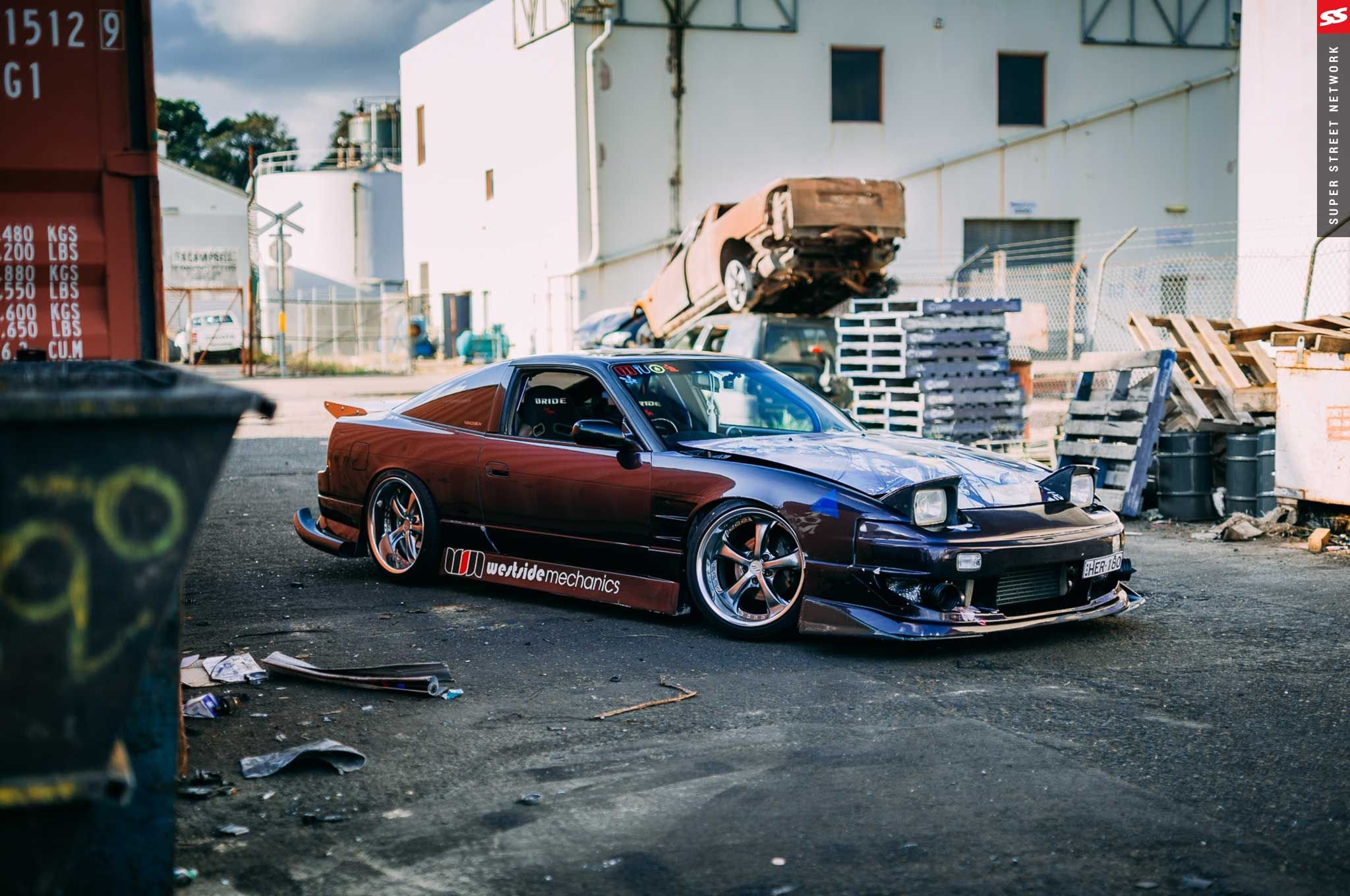 Nissan 180SX Full HD Wallpaper And Background Image
