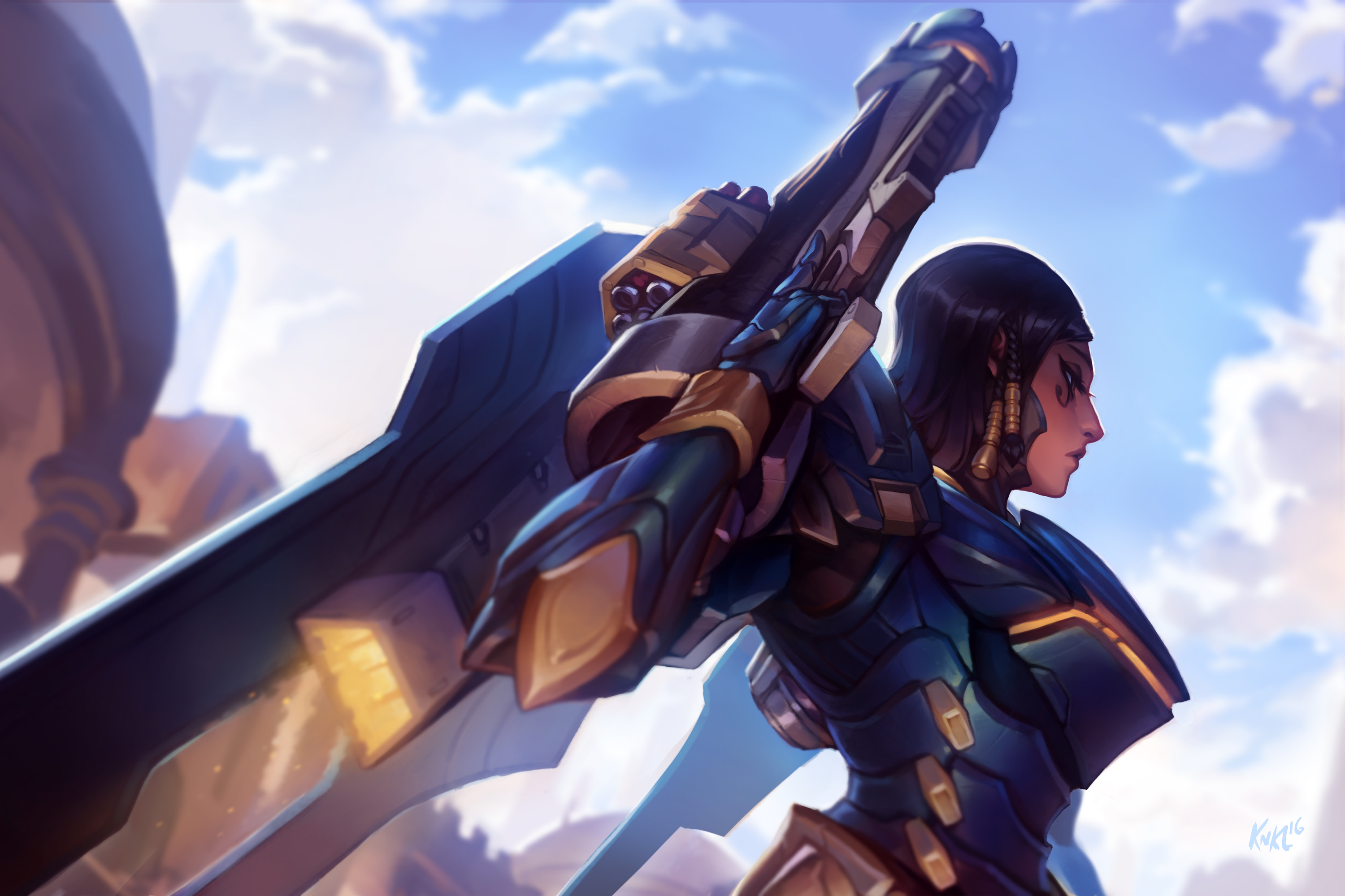 93 Pharah Overwatch Hd Wallpapers Hintergrunde Wallpaper Abyss