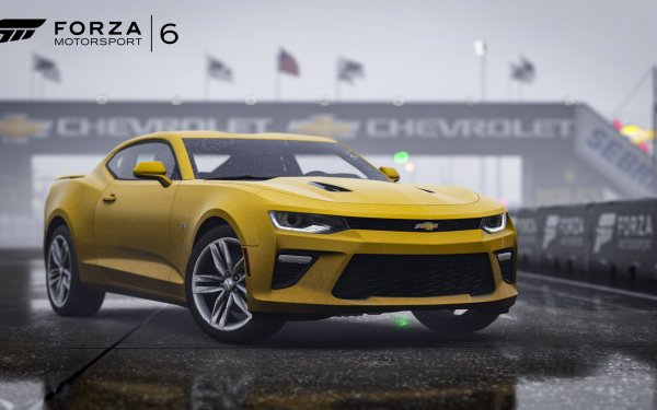 Video Game Forza Motorsport 6 Forza Chevrolet Camaro HD Wallpaper | Background Image