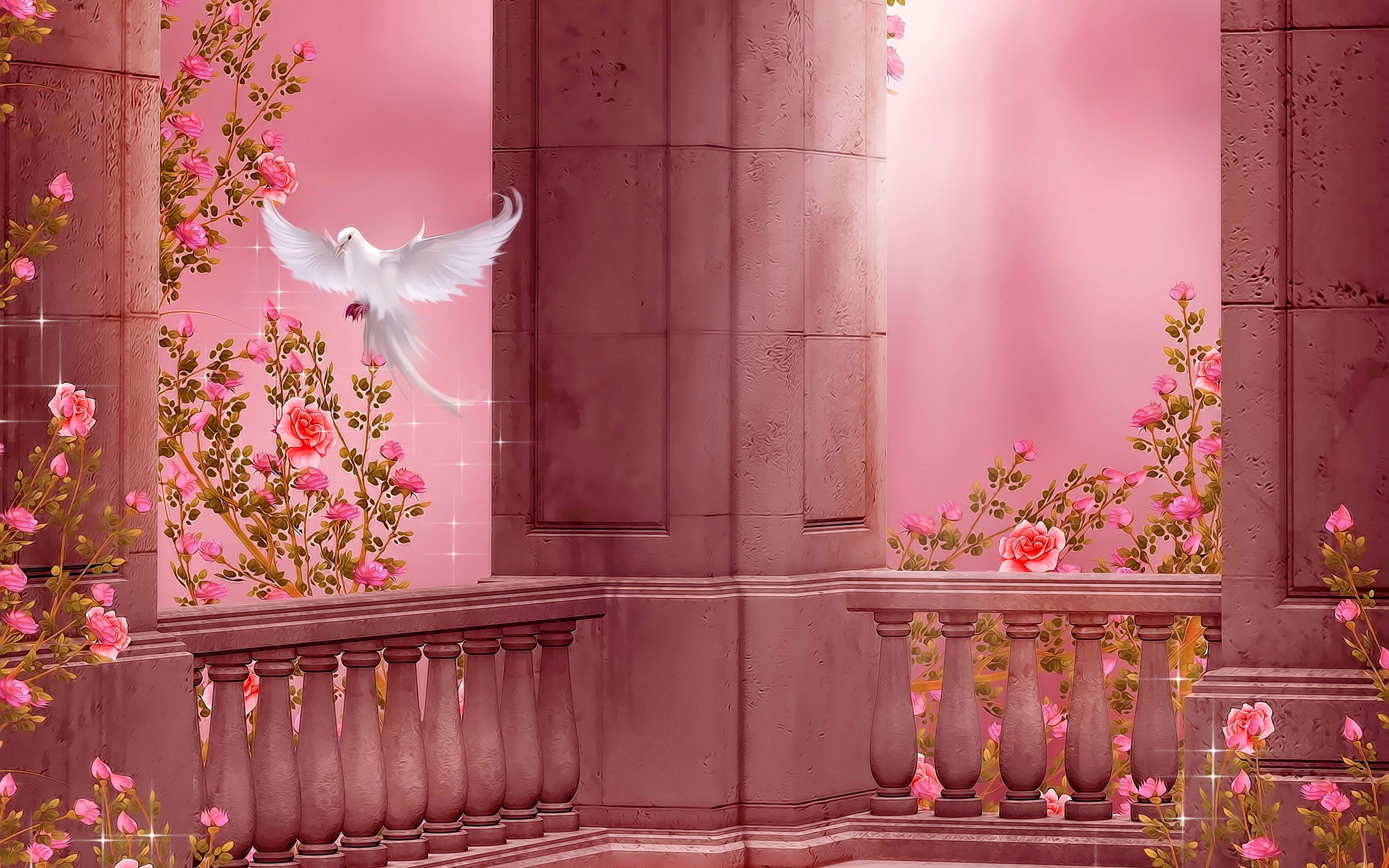 Wallpapers ID700145 Download Next Wallpaper Prev Rose Garden Fantasy