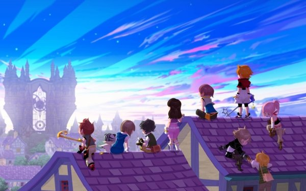 Video Game Kingdom Hearts HD Wallpaper | Background Image