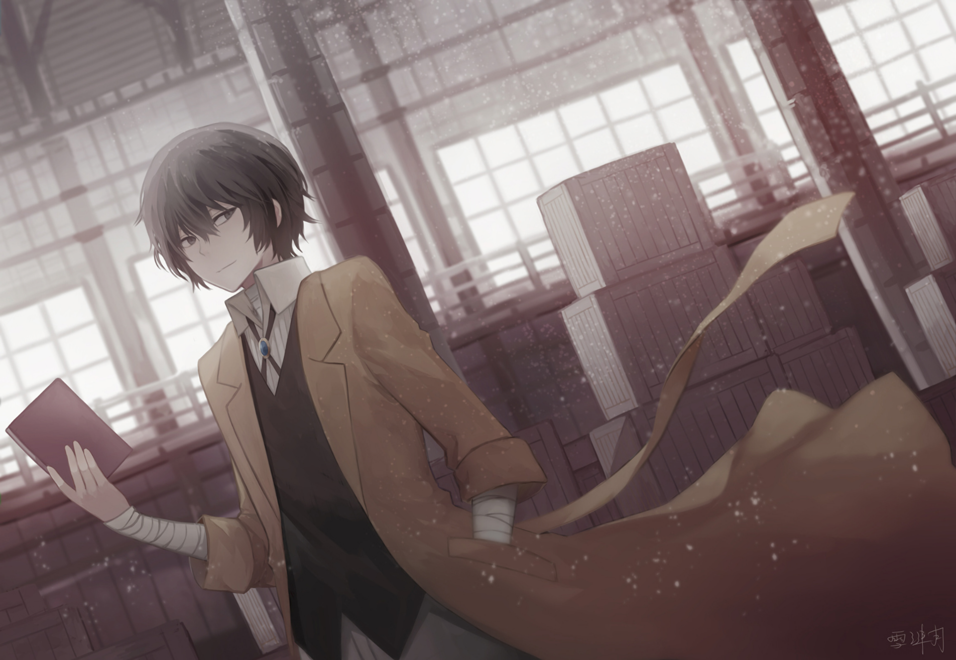 282 Bungou Stray Dogs Hd Wallpapers Background Images