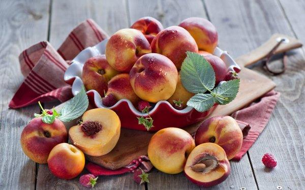 Food Peach Fruit Still Life HD Wallpaper | Background Image