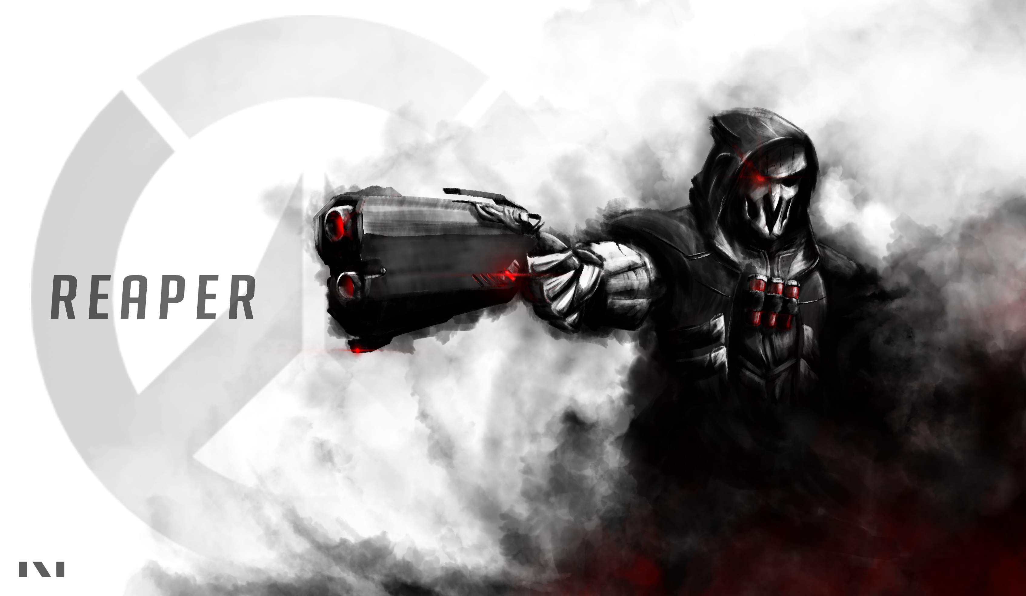 156 Reaper Overwatch Hd Wallpapers Background Images