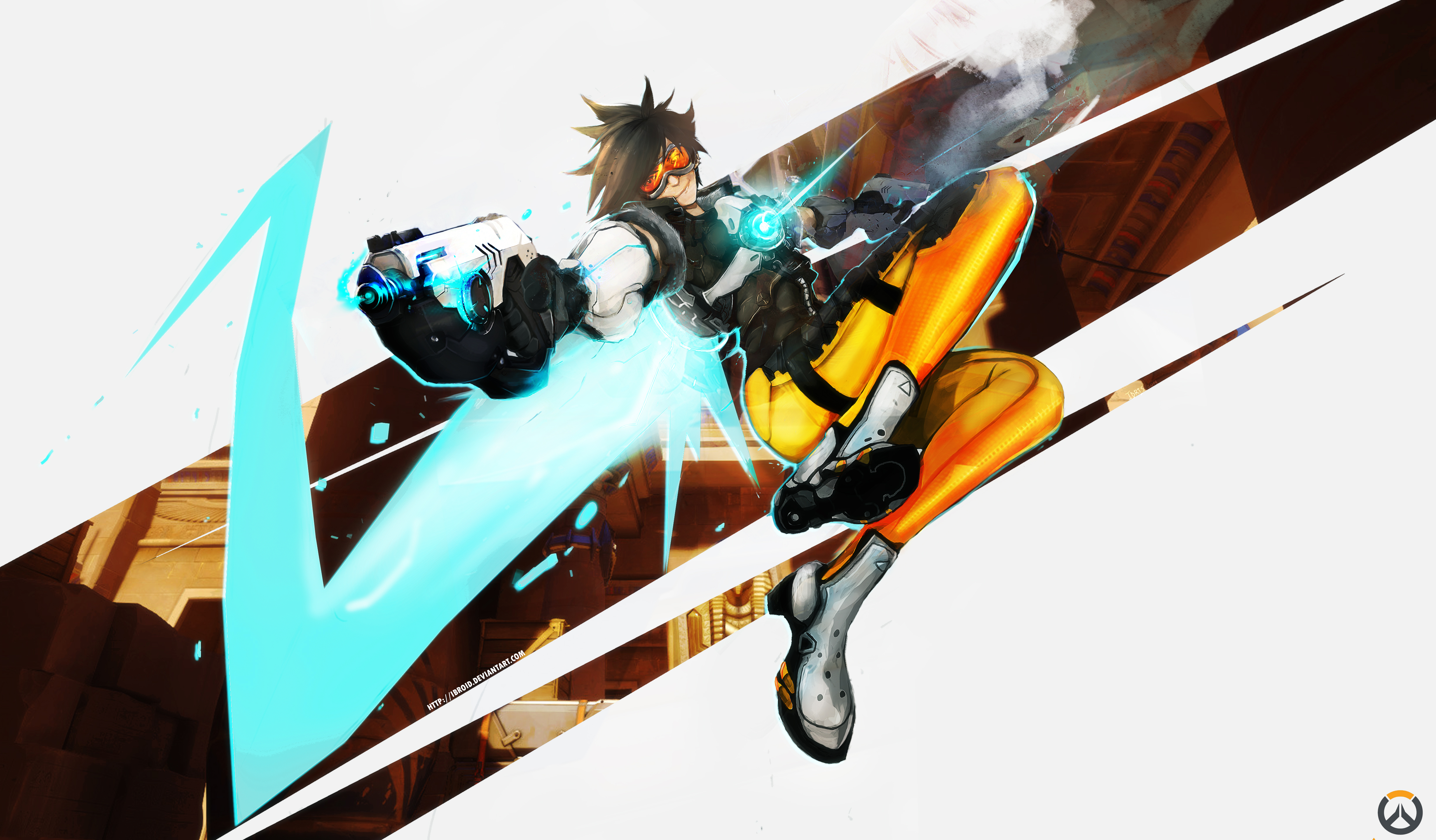 overwatch agent tracer wallpapers - photo #9