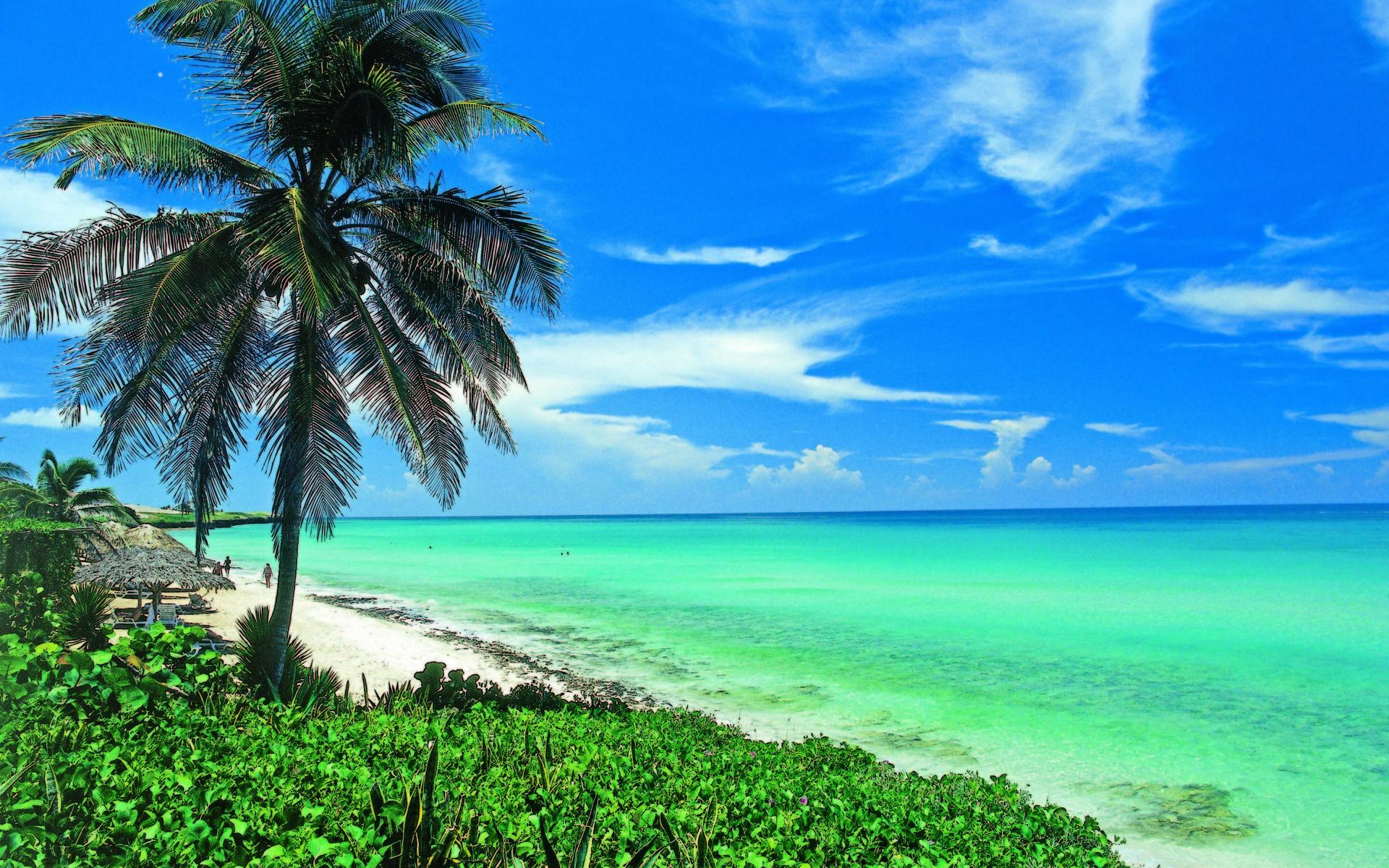 Fondo De Pantalla 1920x1200 Id: Beach In Cuba Fondo De Pantalla HD