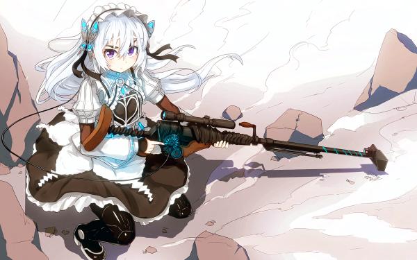 Anime Chaika -The Coffin Princess- Chaika Trabant HD Wallpaper   Background Image