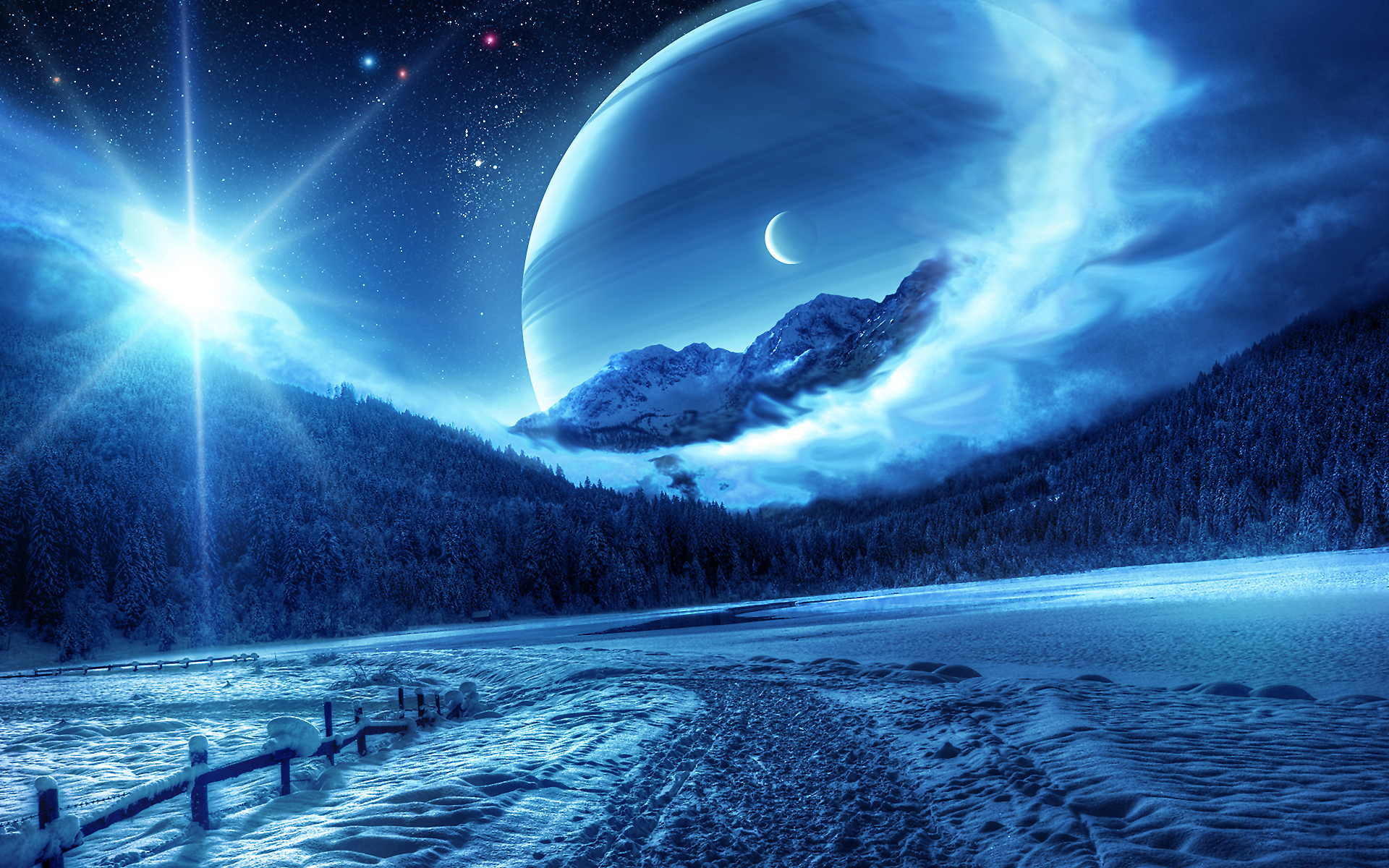 Fantasy Winter Full HD Wallpaper and Background Image | 1920x1200 ... for Fantasy Winter Forest Wallpaper  300lyp