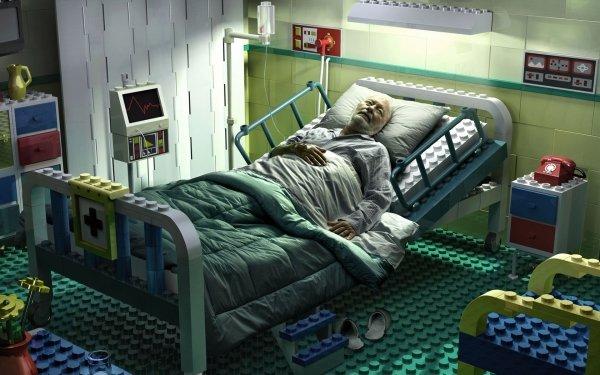 Dark Death Hospital Lego HD Wallpaper | Background Image