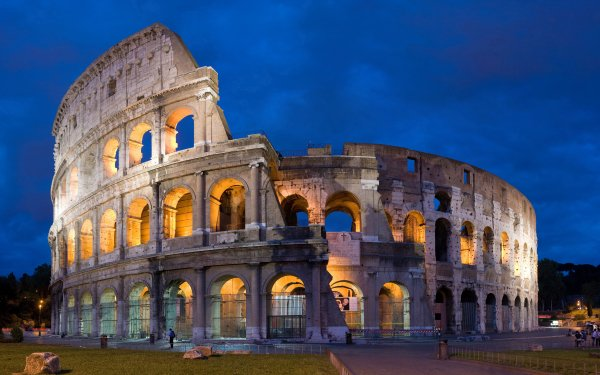 Man Made Colosseum Monuments HD Wallpaper | Background Image
