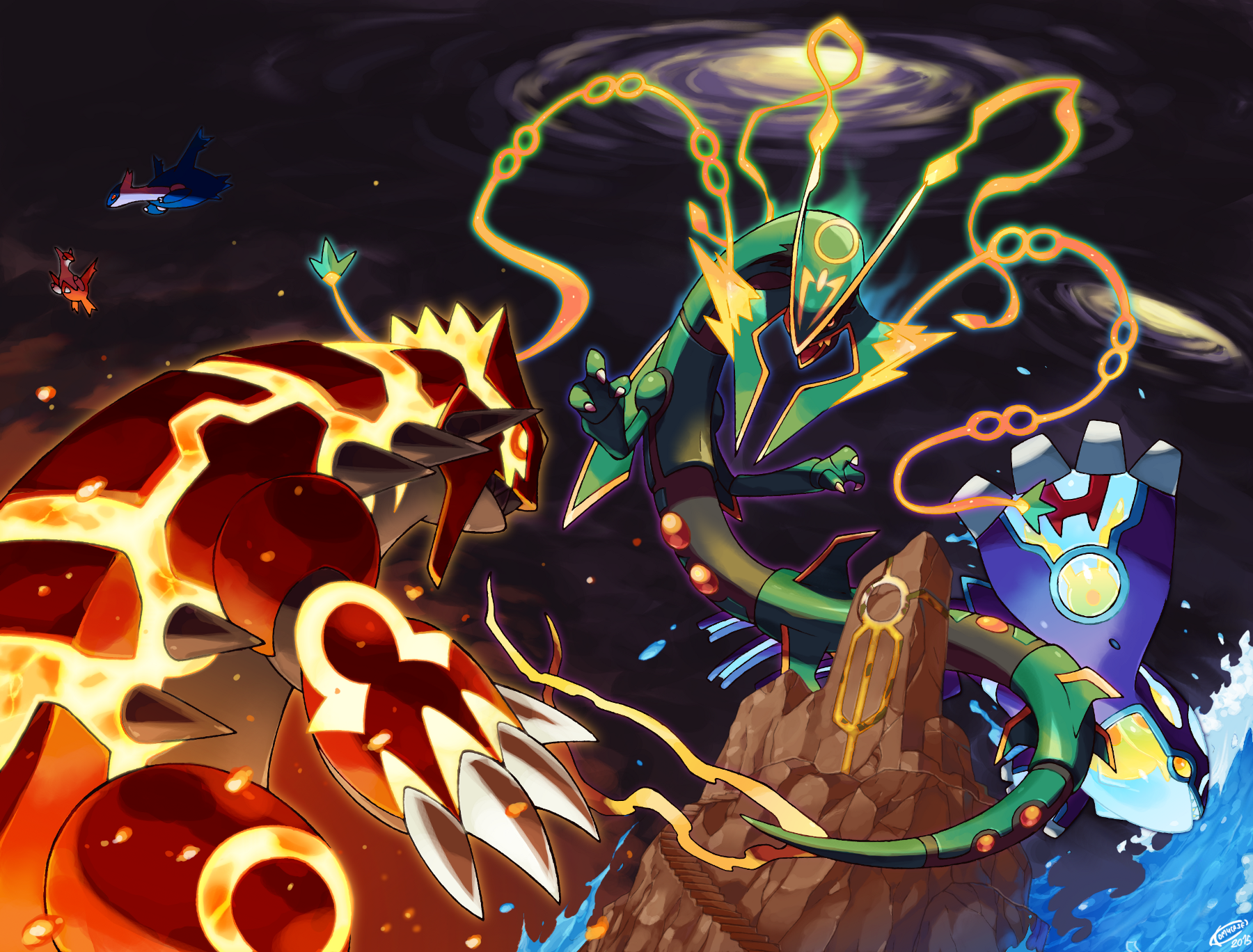 Pokemon Omega Ruby And Alpha Sapphire Wallpaper And Background
