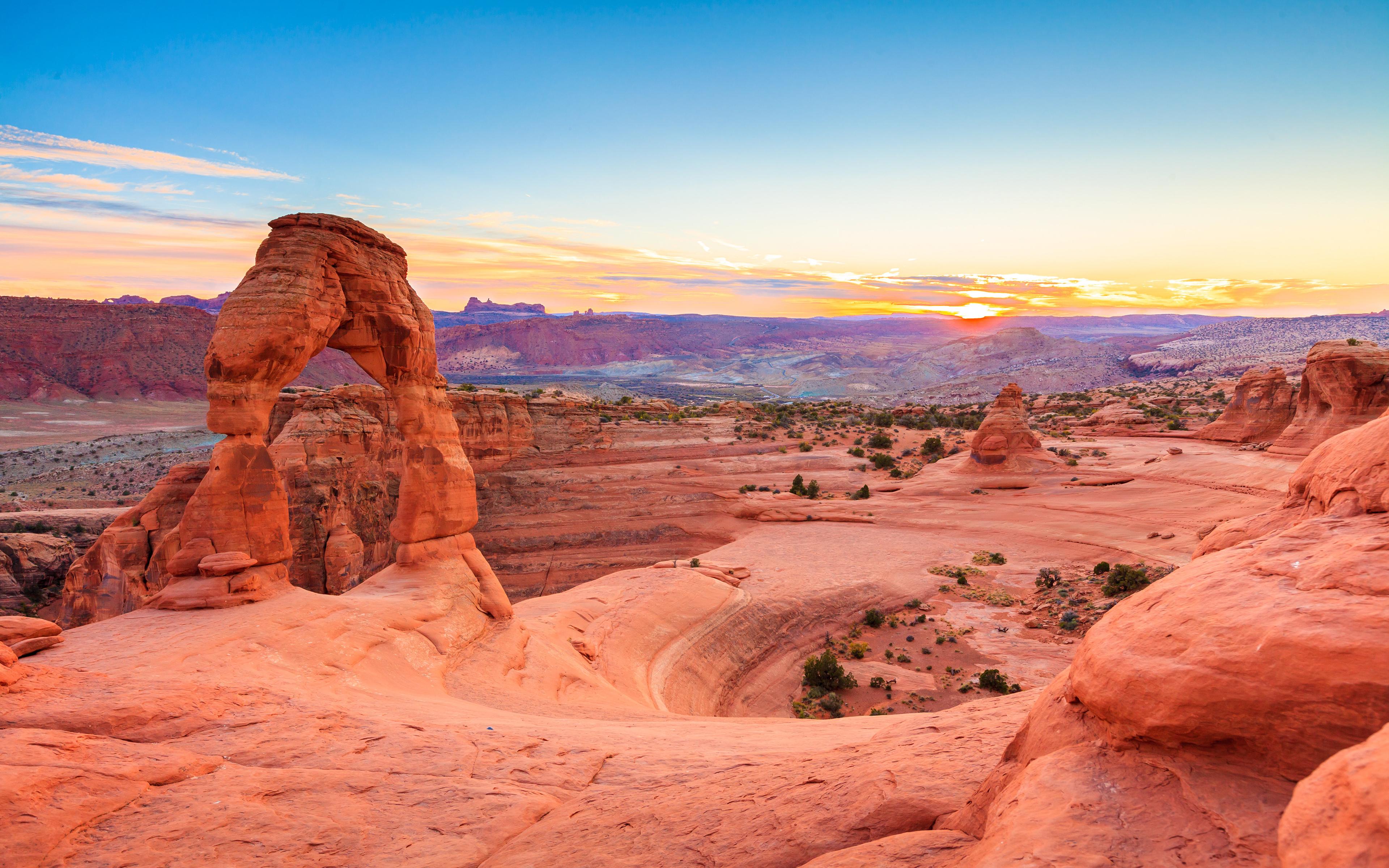 Arches National Park 4k Ultra Fondo De Pantalla Hd Fondo