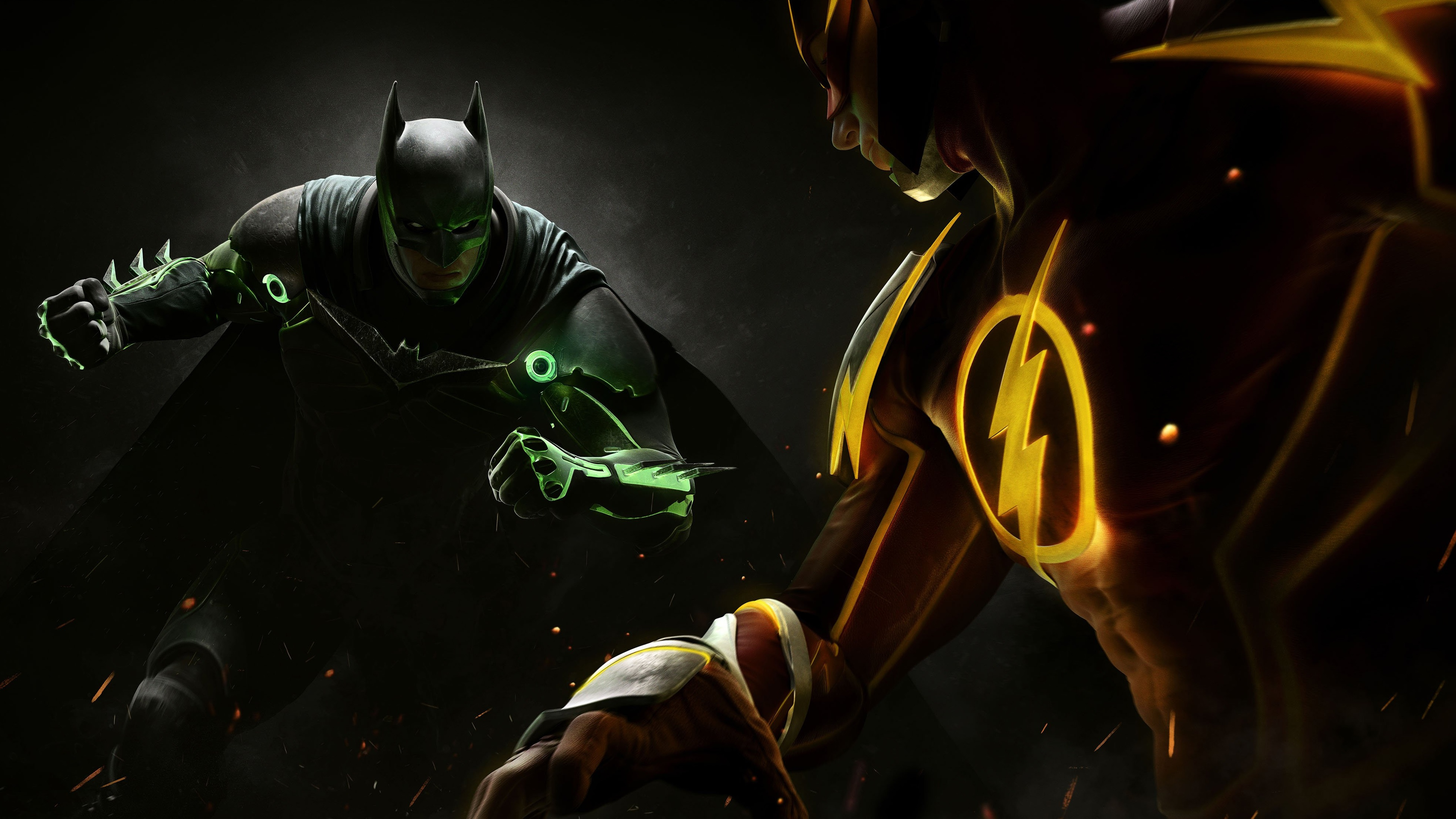 Injustice 2 4k Ultra Papel De Parede HD