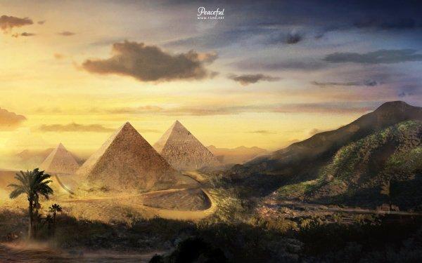 Fantaisie Pyramid Fond d'écran HD | Image